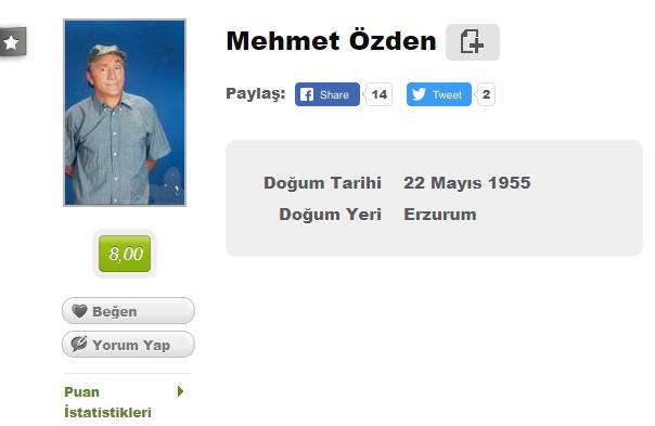 Mehmet Özden harddisk dolumu, Mehmet Özden yeşilçam, Mehmet Özden filmleri, Mehmet Özden hayatı, Mehmet Özden filmleri indir, Mehmet Özden filmleri izle, Hdd dolumu