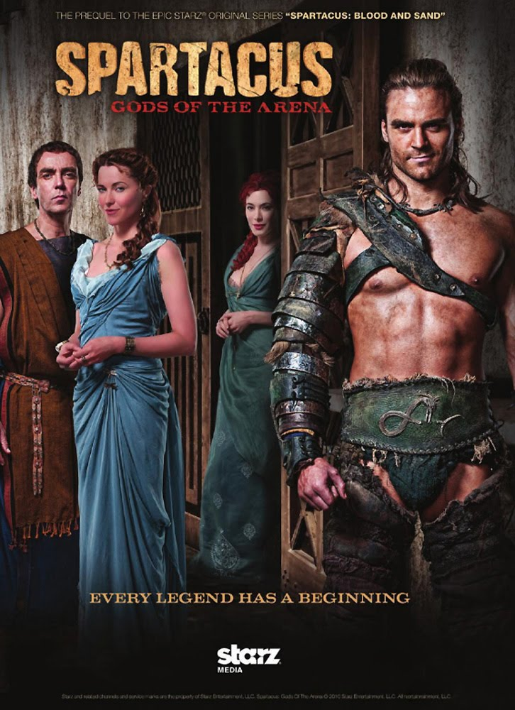 Spartacus Gods of the Arena Full Sezon 1080p