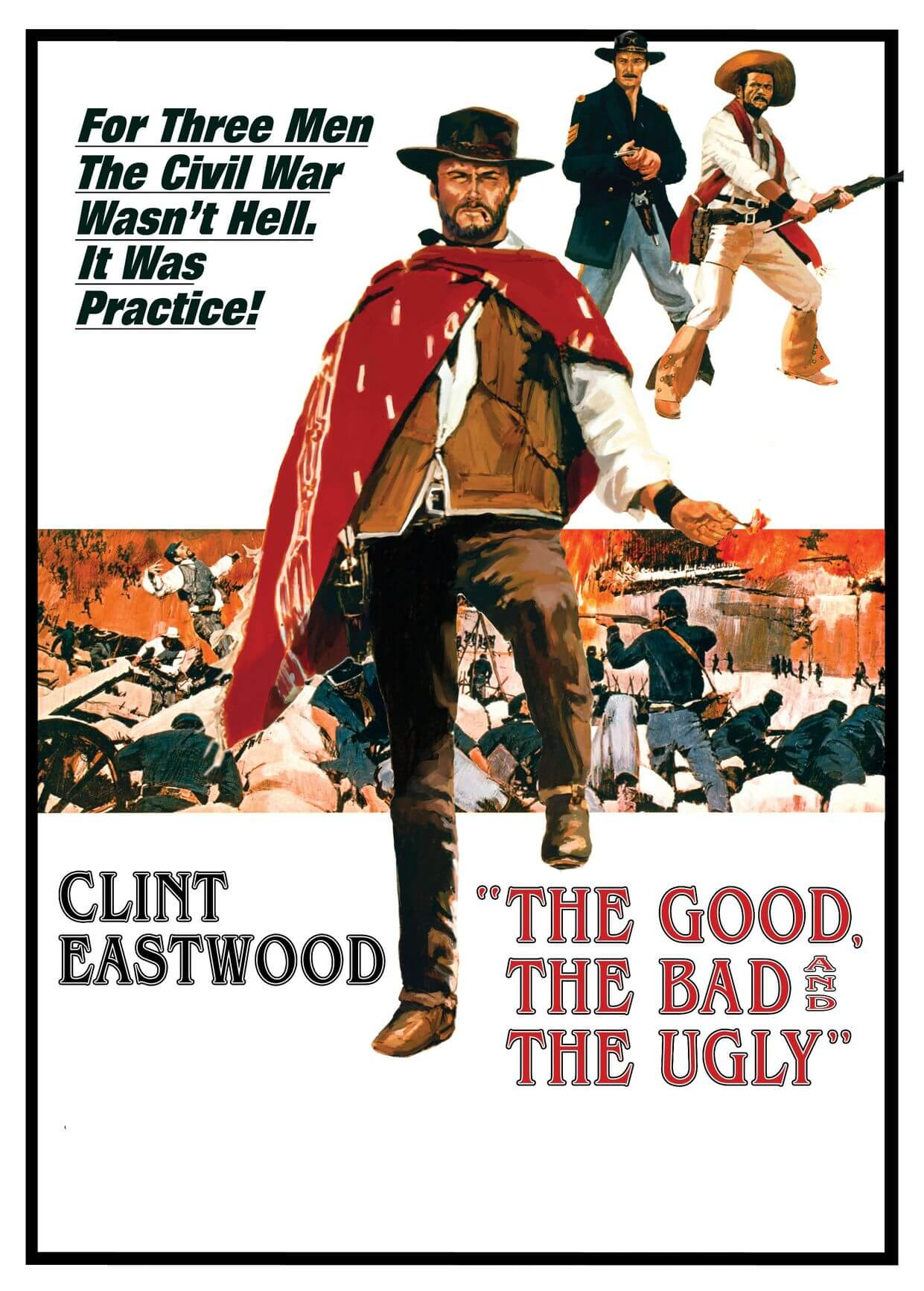 The Good, the Bad, and the Ugly (1966) İyi, Kötü ve Çirkin - Western Kovboy Filmi