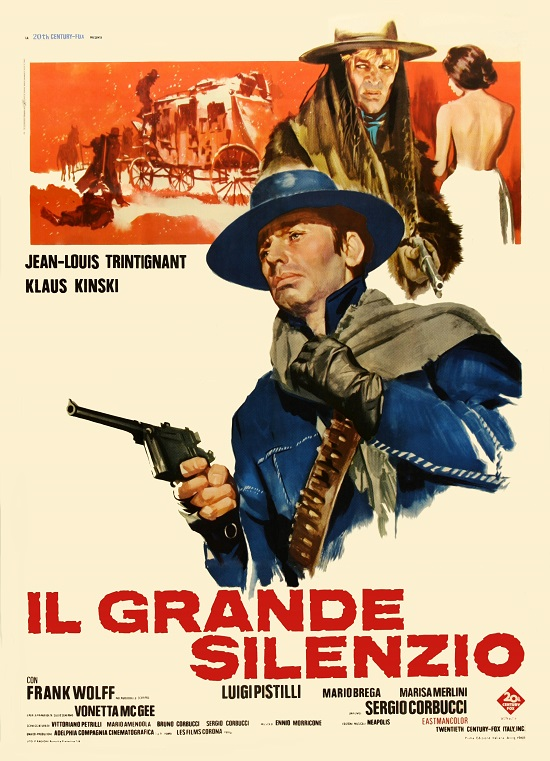 The Great Silence (1968) Büyük Sessizlik – Western Kovboy Filmi