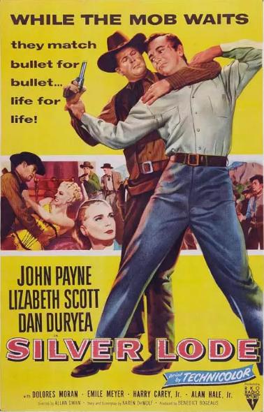 Silver Lode (1954) Kanlı Düğün – Western Kovboy Filmi