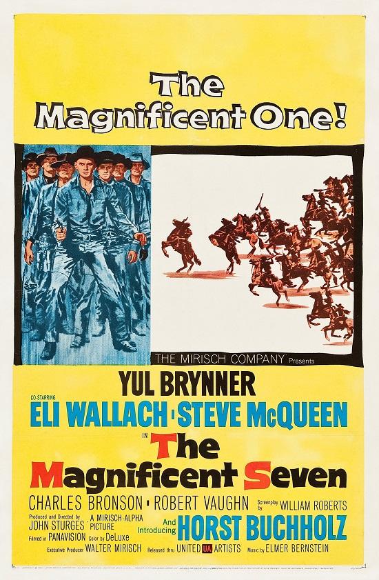 The Magnificent Seven (1960) Yedi silahşörler Western Kovboy Filmi