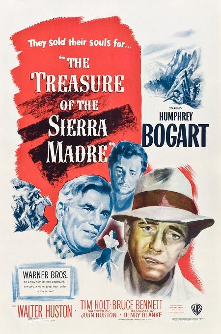The Treasure of the Sierra Madre (1948) Altın Hazineleri – Western Kovboy Filmi