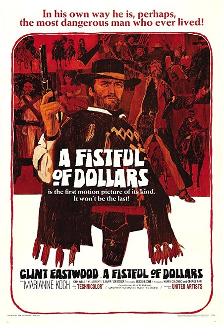 A Fistful of Dollars (1964) Bir Avuç Dolar – Western Kovboy Filmi