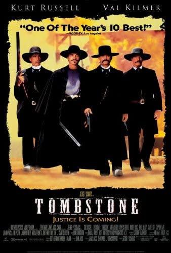 Tombstone (1993) Kasabanın Namusu – Western Kovboy Filmi