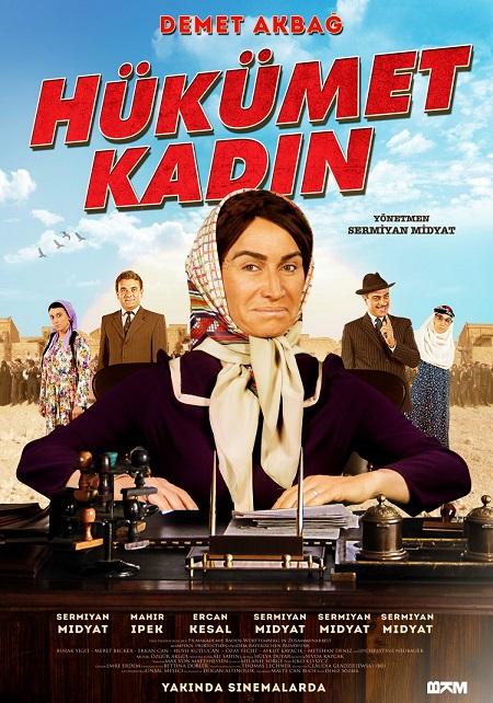 Hükümet Kadın 1 (2012) Yerli Film